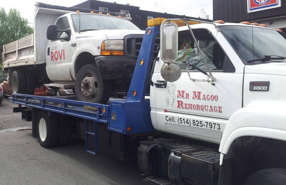 Remorquage Mr Magoo 514-825-7973